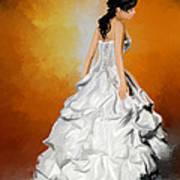 Waiting Bride Art Print
