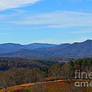 Waiting For Winter In The Blue Ridge Mountains Art Print