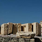 Waiting Tablets At Acropolis Art Print