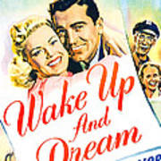 Wake Up And Dream, Us Poster, From Left Art Print