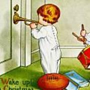 Wake Up Its Christmas Art Print