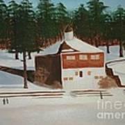 Walden Pond Art Print by Janet C Stevens