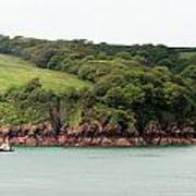 Wales Coastline Panorama Art Print