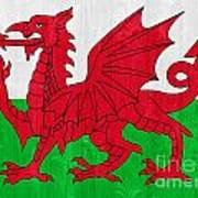 Wales Flag Art Print