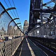 Walk Across Sydney Harbour Bridge Art Print