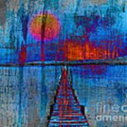 Walk On Water 03 Art Print