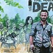 Walking Dead Ghosts Art Print