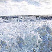 Walking On Water I Art Print by Kevyn Bashore