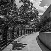 Walkway At Wharton Center Art Print