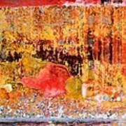 Wall Abstract 1 Art Print