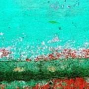 Wall Abstract 111 Art Print