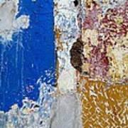 Wall Abstract 142 Art Print