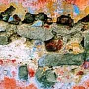 Wall Abstract 15 Art Print