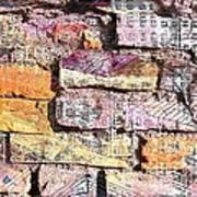 Wall In City Art Print