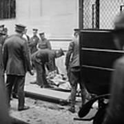 Wall Street Bombing, 1920 Art Print