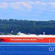 Wallenius Wilhelmsen Logistics Tamerlane Ship Art Print
