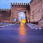 Walls Of Fes In Morocco Art Print