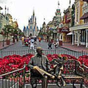 Walt Disney World Transportation 3 Panel Composite 02 Art Print