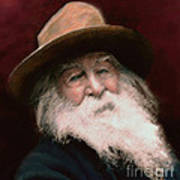 Walt Whitman Art Print