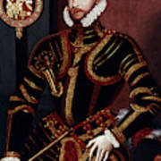 Walter Devereux (1541-1576) Art Print