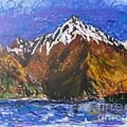 Walter Peak Queenstown  Art Print