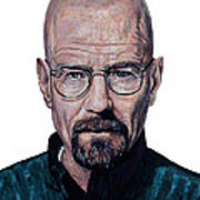 Walter White - I Won Art Print