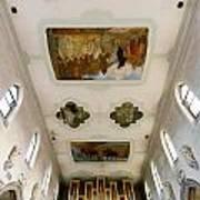 Wangen Organ And Ceiling Art Print