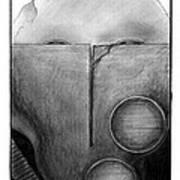 War Mask_009 Art Print