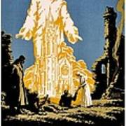 War Poster - Ww1 - Christians Support Red Cross Art Print