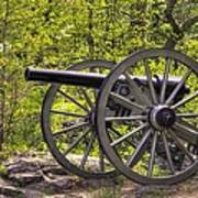 War Thunder - 5th United States Artillery Hazletts Battery - Little Round Top Gettysburg Spring Art Print