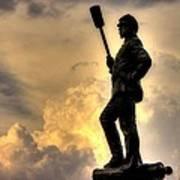 War Thunder - The Clouds Of War - 4th New York Independent Battery Near Devils Den Gettysburg Art Print