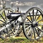 War Thunder - The Letcher Artillery Brander's Battery West Confederate Ave Gettysburg Art Print