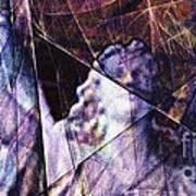 Warehouse Angel / Through The Broken Glass Art Print