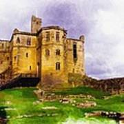 Warkworth Castle Art Print