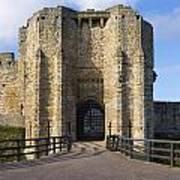 Warkworth Castle Gate House Art Print