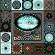 Warm Cosmos Redux Art Print
