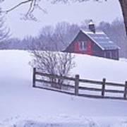 Warm In Winter Art Print