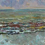 Warm Sea Art Print
