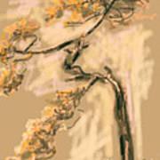 Warm Tree Art Print