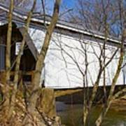 Warnke Covered Bridge  Art Print