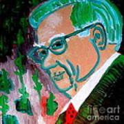 Warren Buffett Sage Of Omaha 2 Art Print