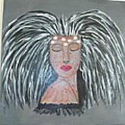 Warrior Woman #2 Art Print