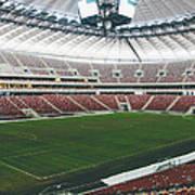 Warsaw Stadion Art Print
