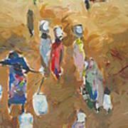 Washing Day 2 Art Print by Negoud Dahab