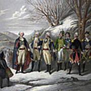 Washington & Generals Art Print