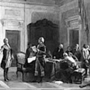 Washington And Lafayette Art Print