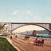 Washington Bridge 1901 Art Print