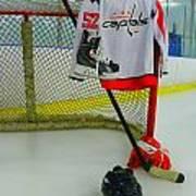 Washington Capitals Mike Green Away Hockey Jersey Art Print