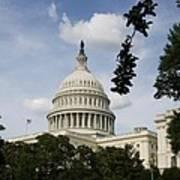 Washington Dc Capitol Dome Art Print
