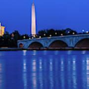 Washington D.c. - Memorial Bridge Art Print